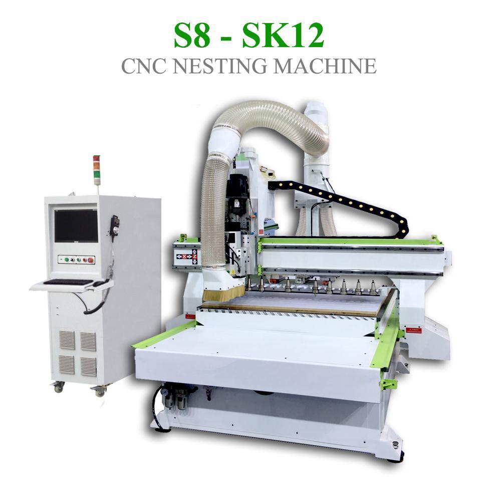 CNC Nesting S8 - SK12