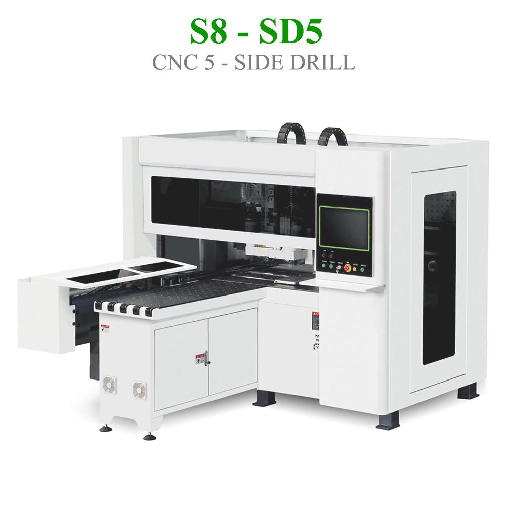 CNC khoan 5 mặt S8 - SD5