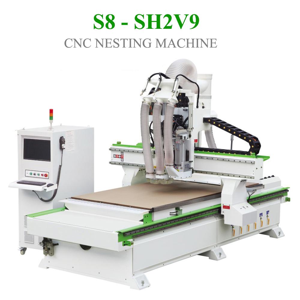 CNC Nesting S8 - SH2V9
