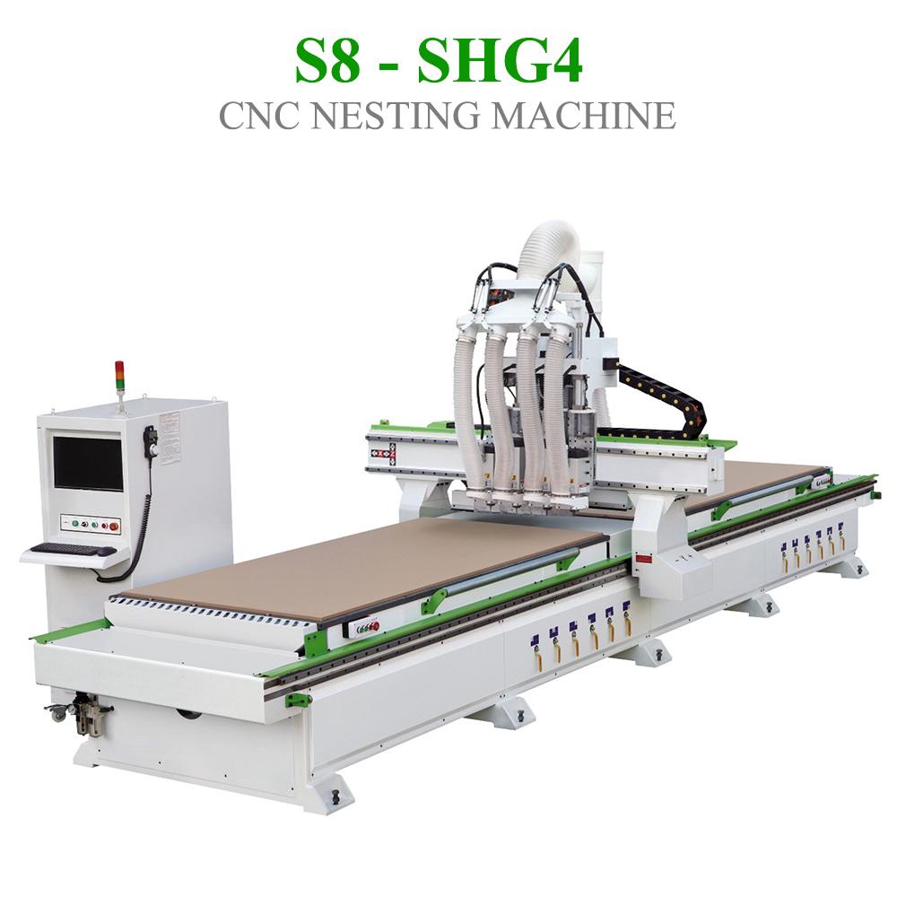 CNC Nesting S8 - SHG4