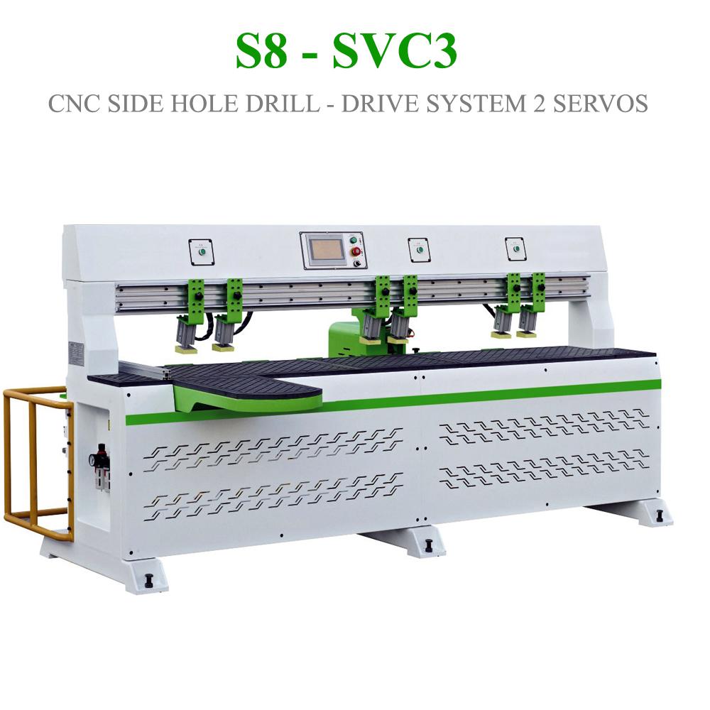 Máy CNC tự động khoan cạnh S8 - SVC3