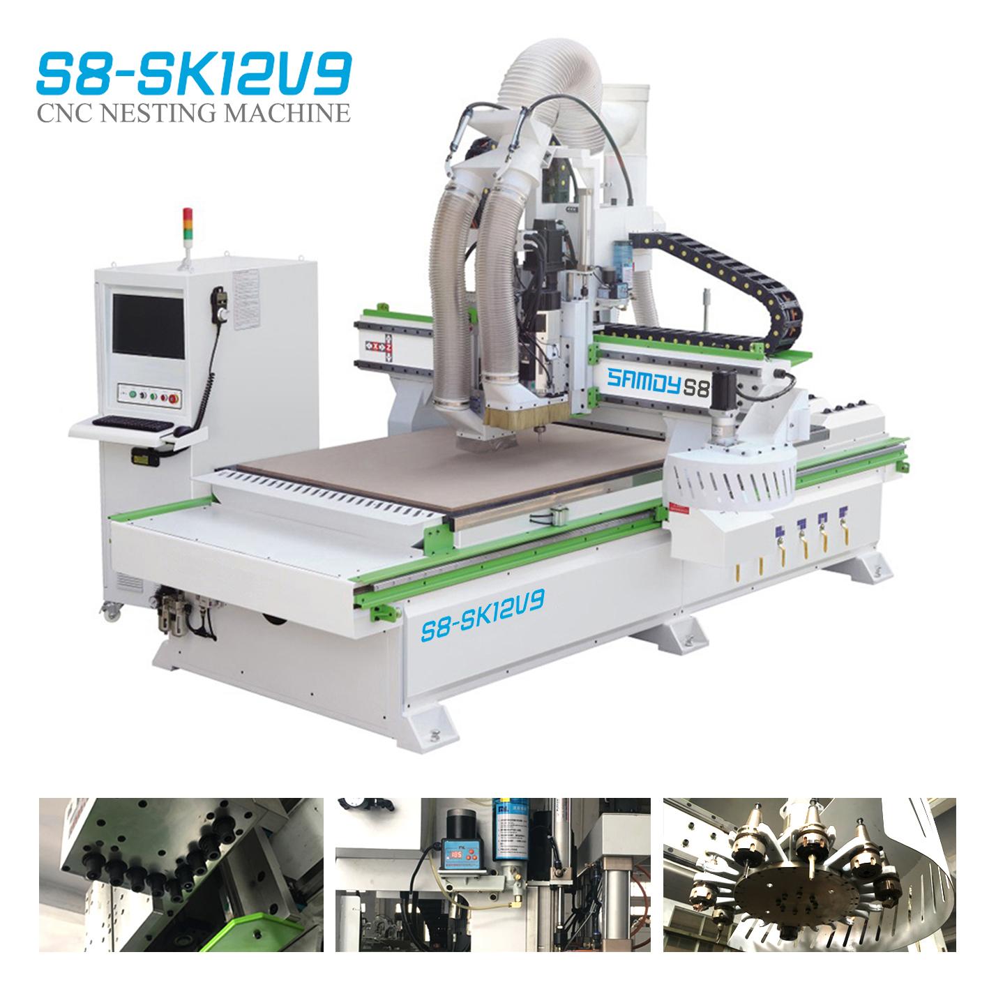 CNC Nesting S8 - SK12V9