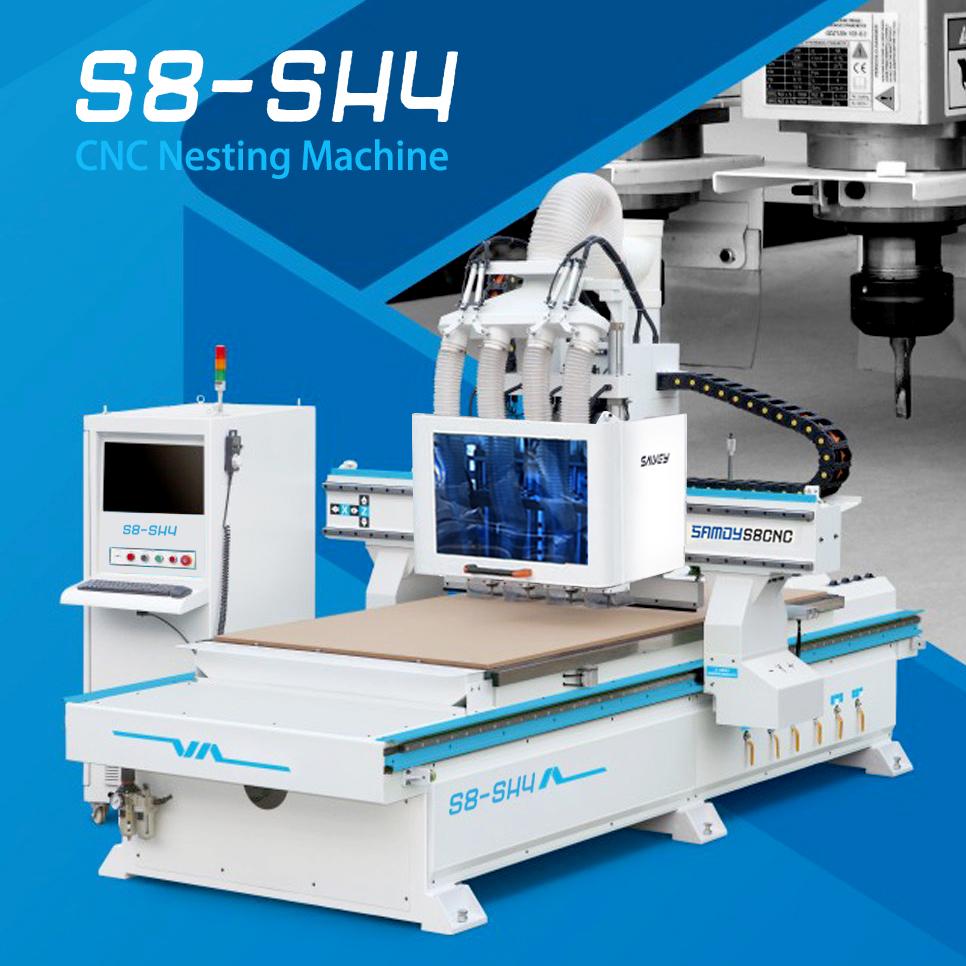 CNC Nesting S8 - SH4