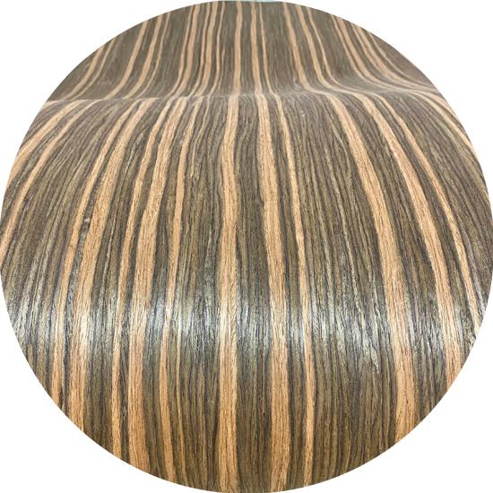 Veneer kỹ thuật gỗ Macassar Ebony vân vừa kt: 650*2500mm - VN 04