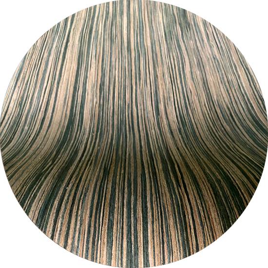 Veneer kỹ thuật gỗ Macassar Ebony vân nhỏ kt: 650*2500mm - VN 03