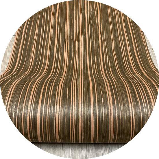 Veneer kỹ thuật vân gỗ Ebony kt: 600*2500 mm- VN 07