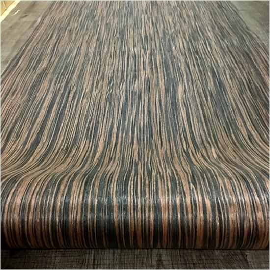 Veneer kỹ thuật vân gỗ Mun Sọc Tăm - VN 03