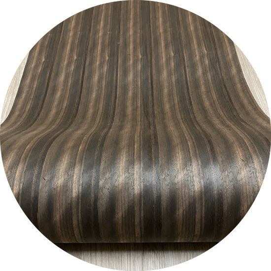 Veneer tự nhiên gỗ Ebony kt: 600*2500 mm- VN 06