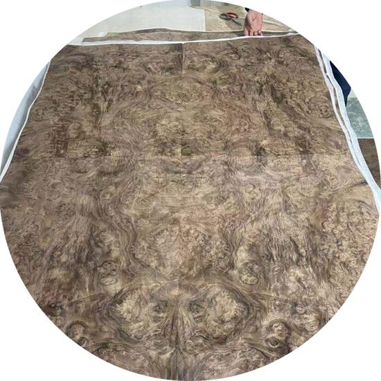 Veneer Nu tự nhiên gỗ Óc Chó mặt bàn đặc biệt  kt: 1160*1710 mm  - VN 10