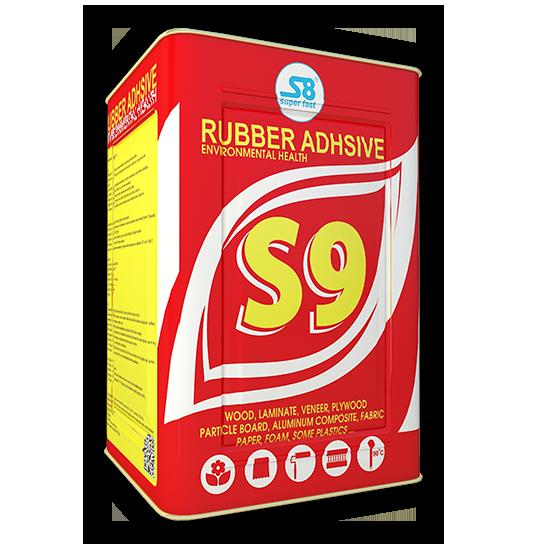Keo cao su chịu nhiệt bôi tay nội thất, ngoại thất - S9